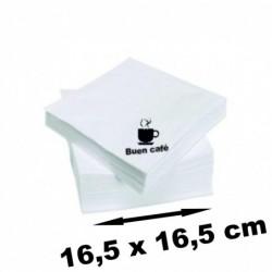 Posavasos cuadrados de Carton  Absorvente de 1,4mm  100 unidades