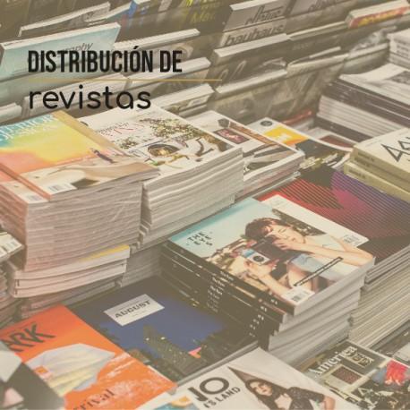 Distribucion de Revistas en comercios  4000  unds