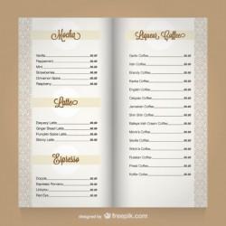 Cartas Hosteleria (Menús)   15 Unds    A3